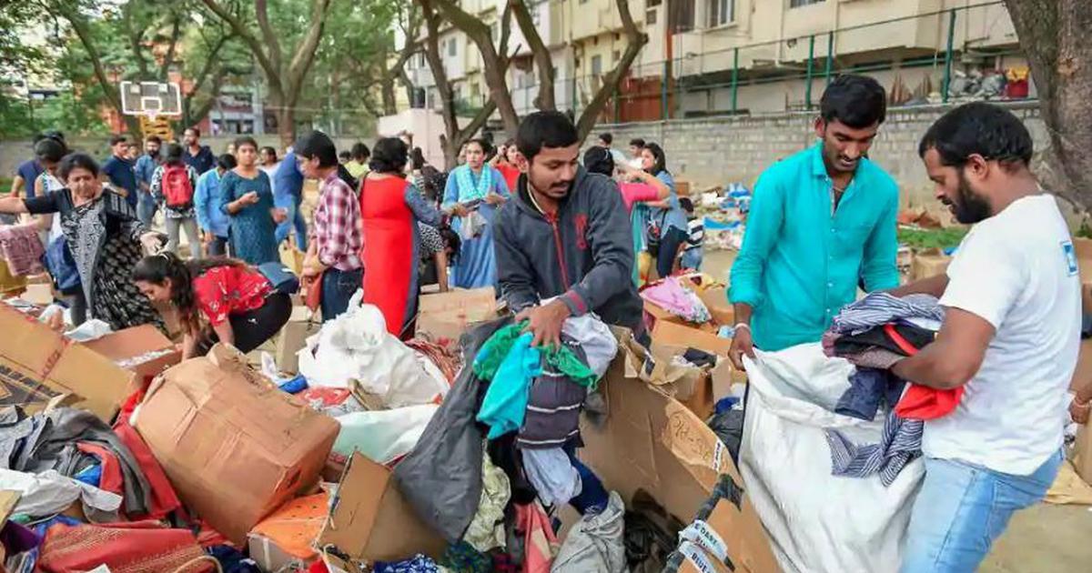 Need cash, not Kurkure: Karnataka's Kodagu district relief camps have enough supplies but lack funds