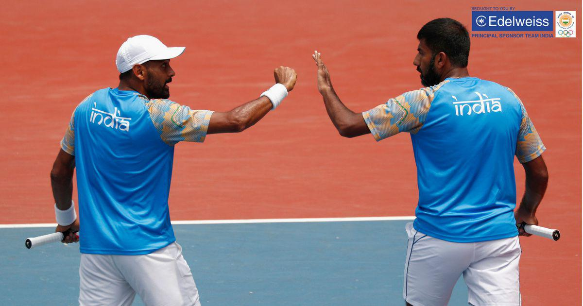 Asian Games tennis: Rohan Bopanna and Divij Sharan defeat Kazakh pair to clinch men's doubles gold