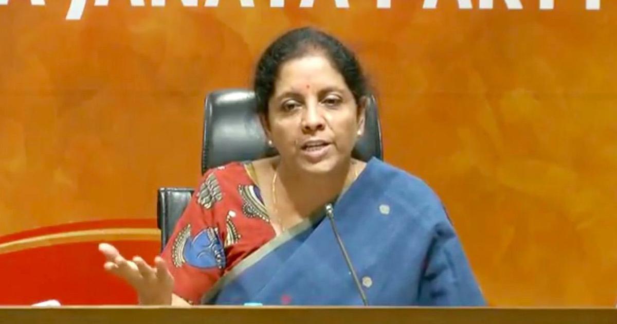 Karnataka: Nirmala Sitharaman visits Kodagu to observe relief work, pledges Rs 8 crore from funds