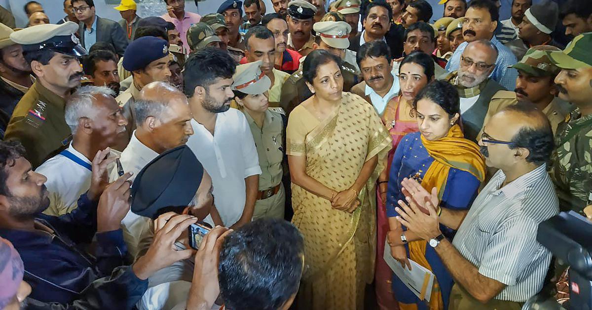 'Unbelievable': Nirmala Sitharaman rebukes Karnataka minister during press conference