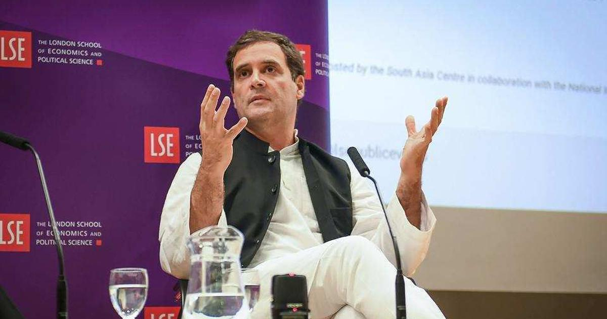 Rahul Gandhi says he has no ambition to become prime minister, is fighting an ideological battle