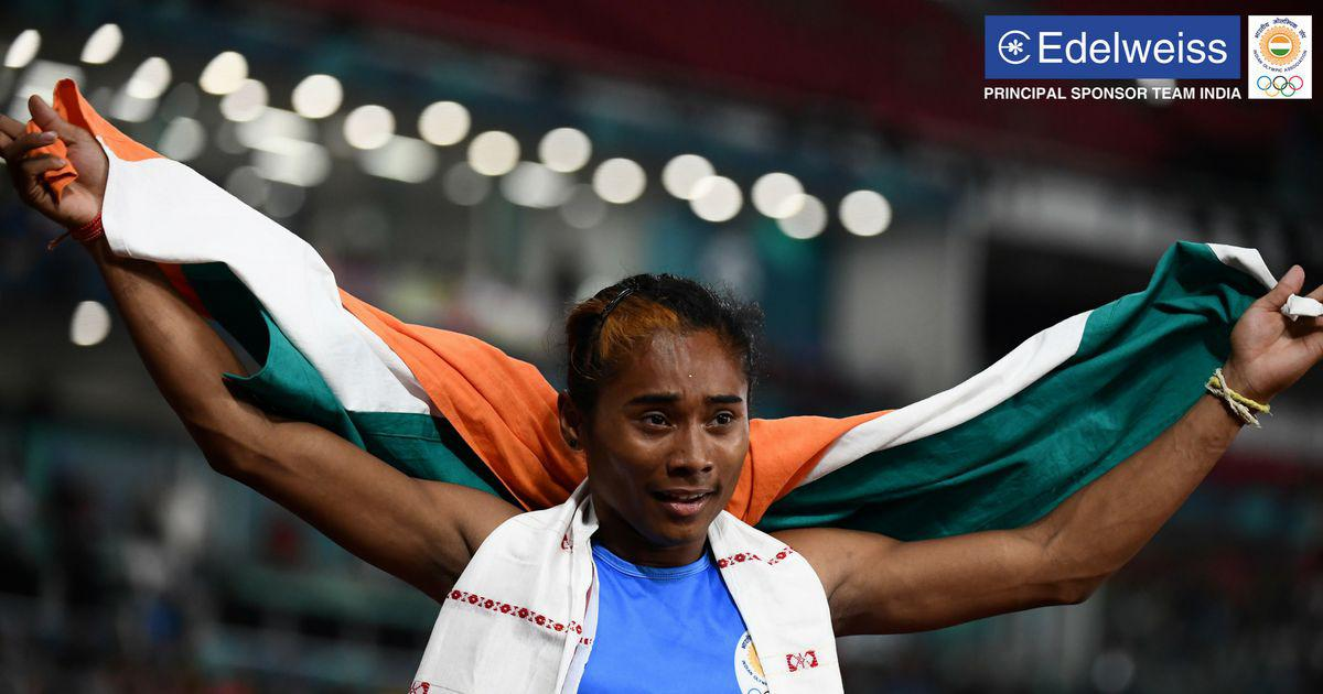Asian Games day 8 round up: Sprinters win three silvers, Saina and Sindhu reach semi-finals