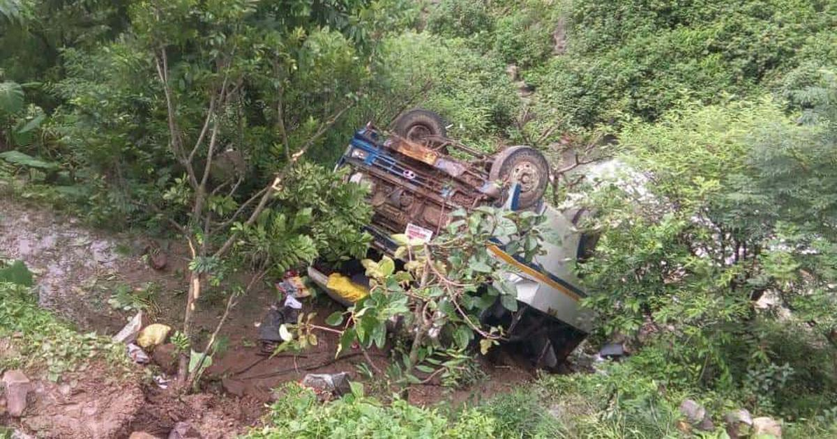 Uttarakhand: Two killed and 34 injured after bus falls into gorge in Tehri Garhwal