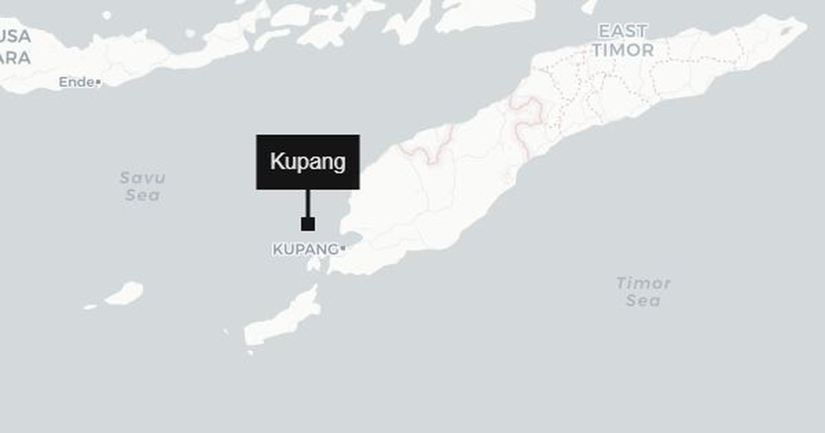 Indonesia: Earthquake of magnitude 6.2 strikes off the coast of Timor