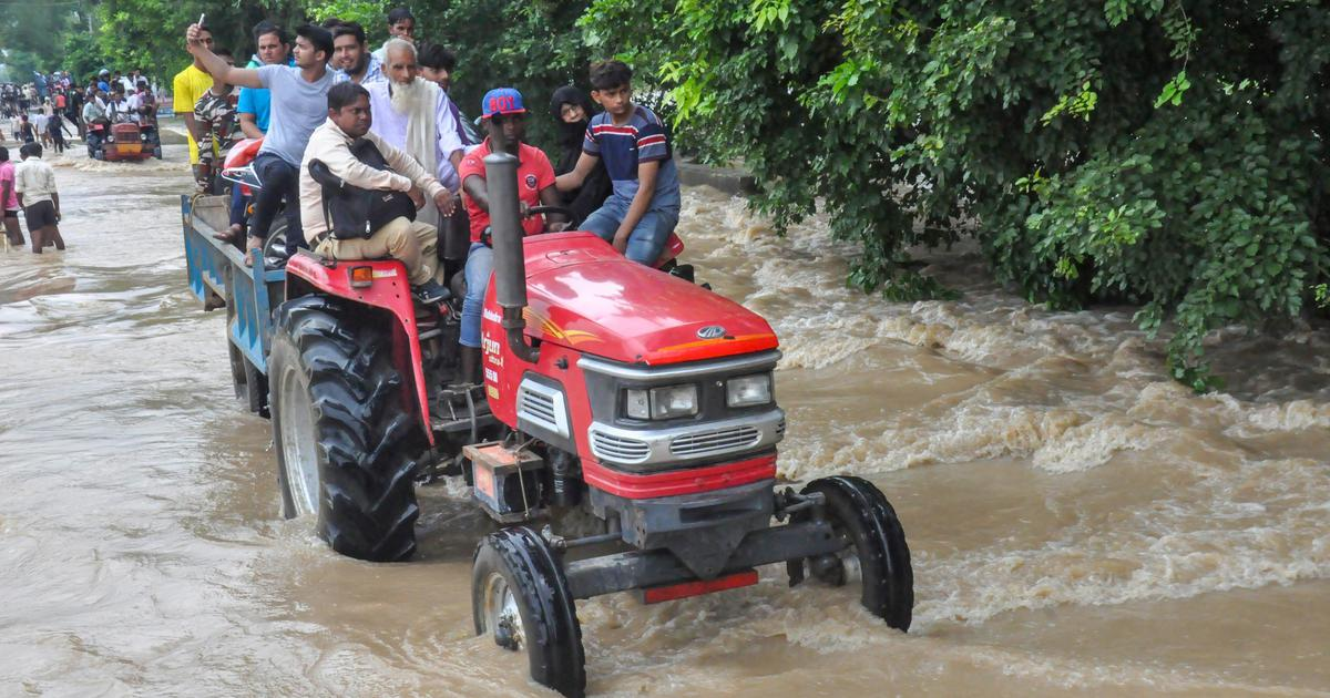 Uttar Pradesh: At least 300 villages marooned after heavy rain leads to flooding, says report