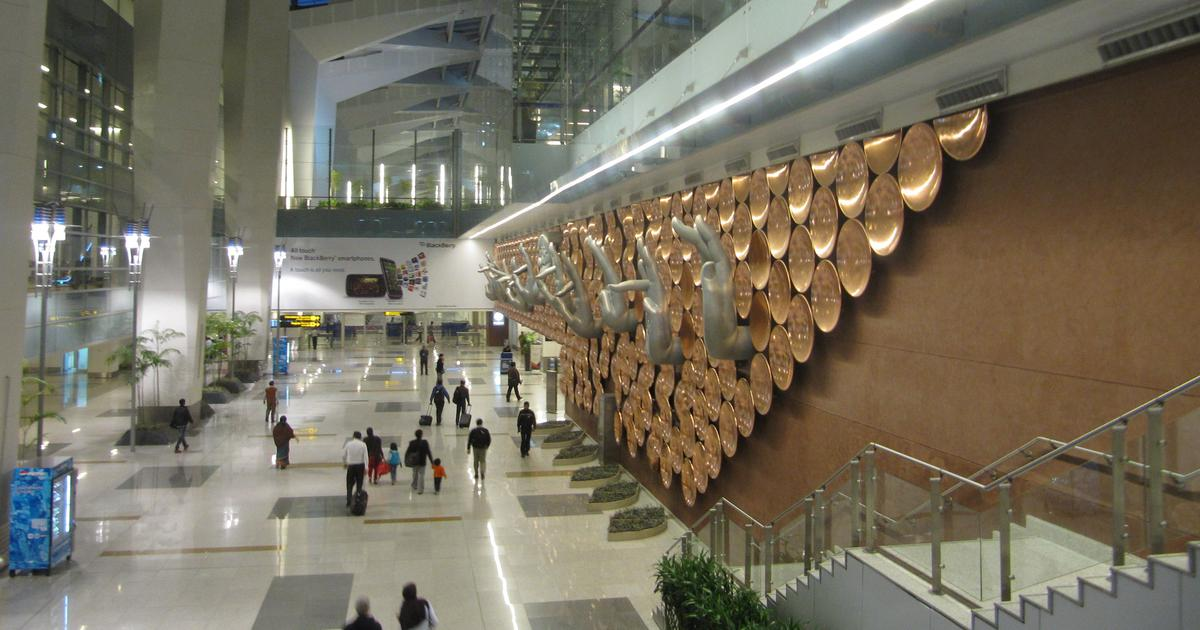 Delhi: Woman arrested at airport after power bank she threw at wall bursts