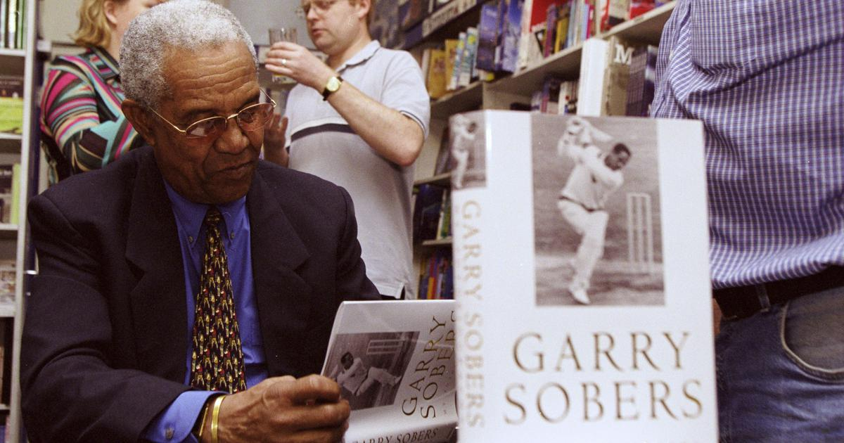Watch: When West Indies legend Garry Sobers became the first man to hit 6 sixes in an over