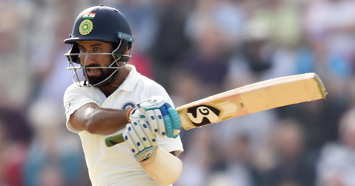 Pujara finds the right mix of caution and aggression in masterful century at Southampton