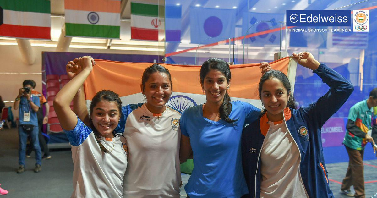 Asian Games squash: India win silver after losing to Hong Kong in the women's team event final