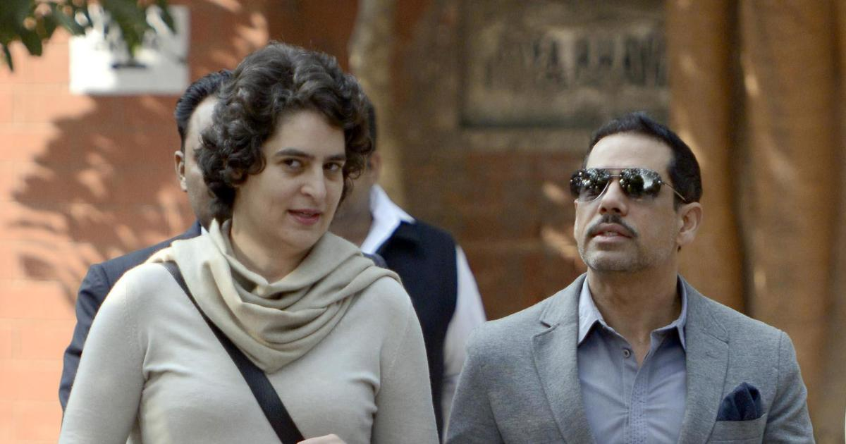 The big news: FIR lodged against Robert Vadra in Gurugram land deal case, and nine other top stories
