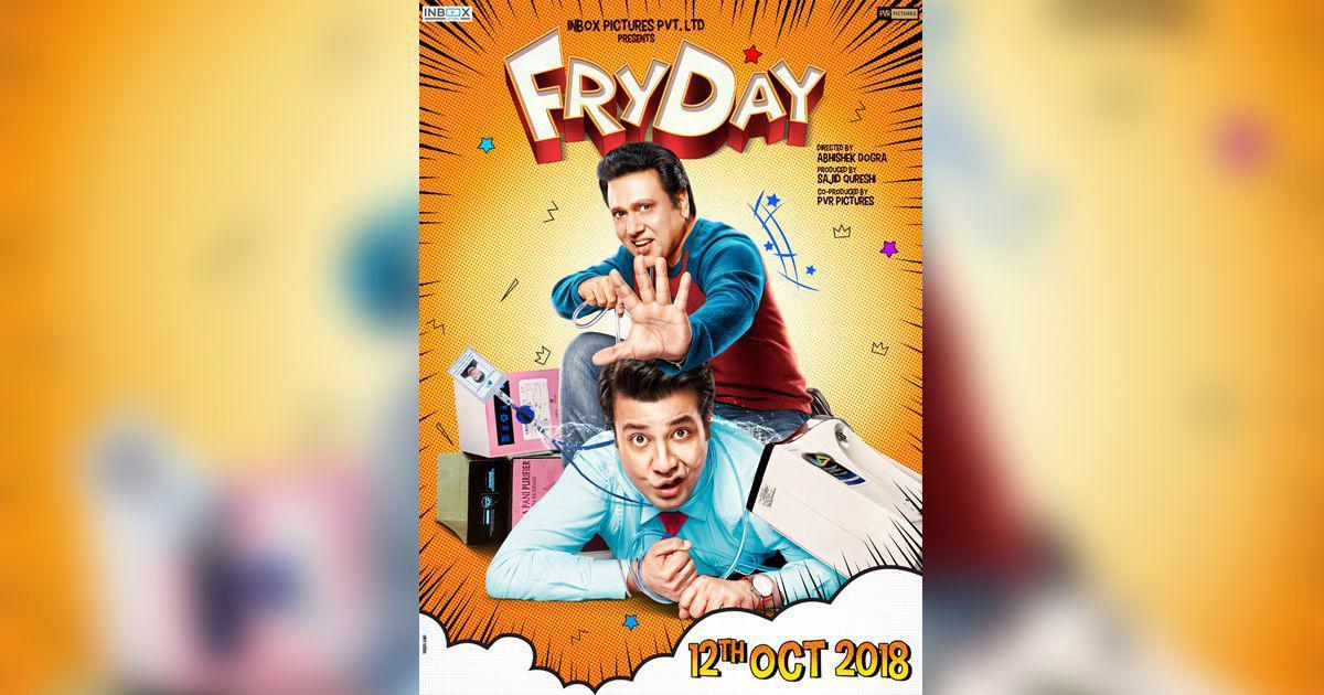 Govinda's 'Fryday' sets an October release date