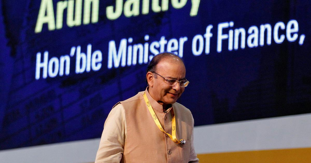 Rupee is falling because of global, not domestic reasons, says Finance Minister Arun Jaitley