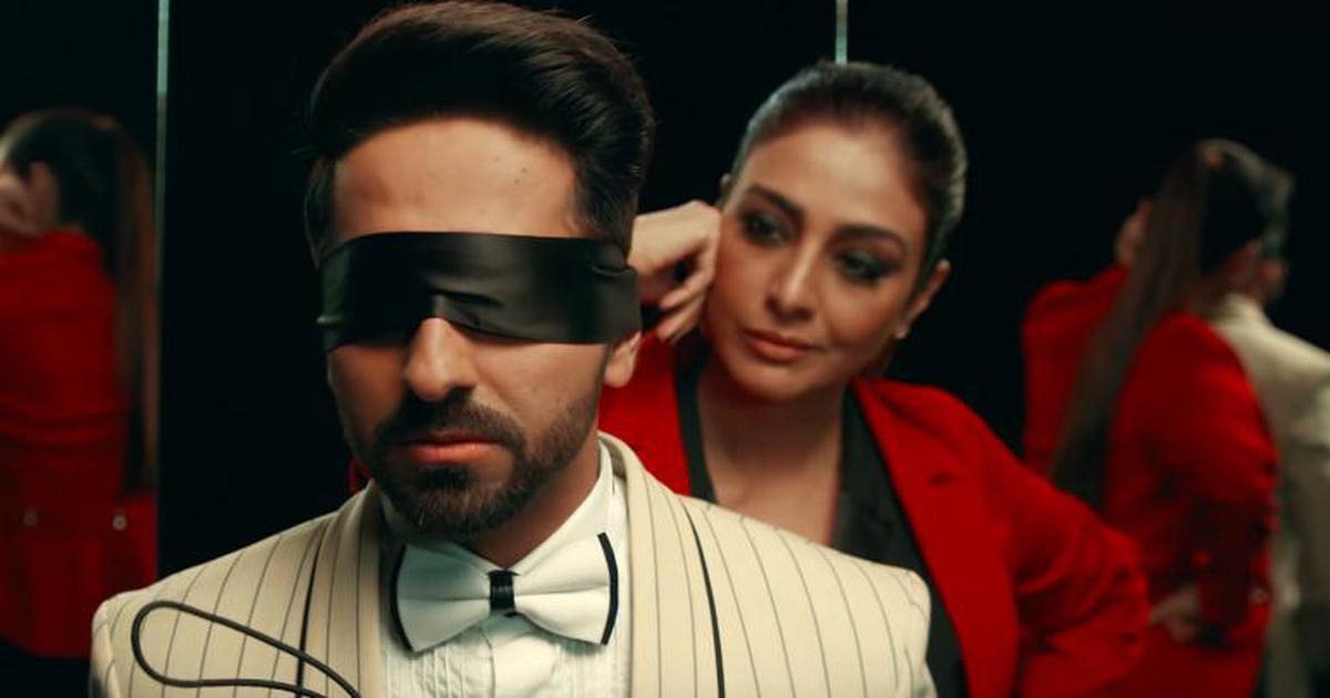 Watch: Everyone's a suspect in the 'Andhadhun' title track