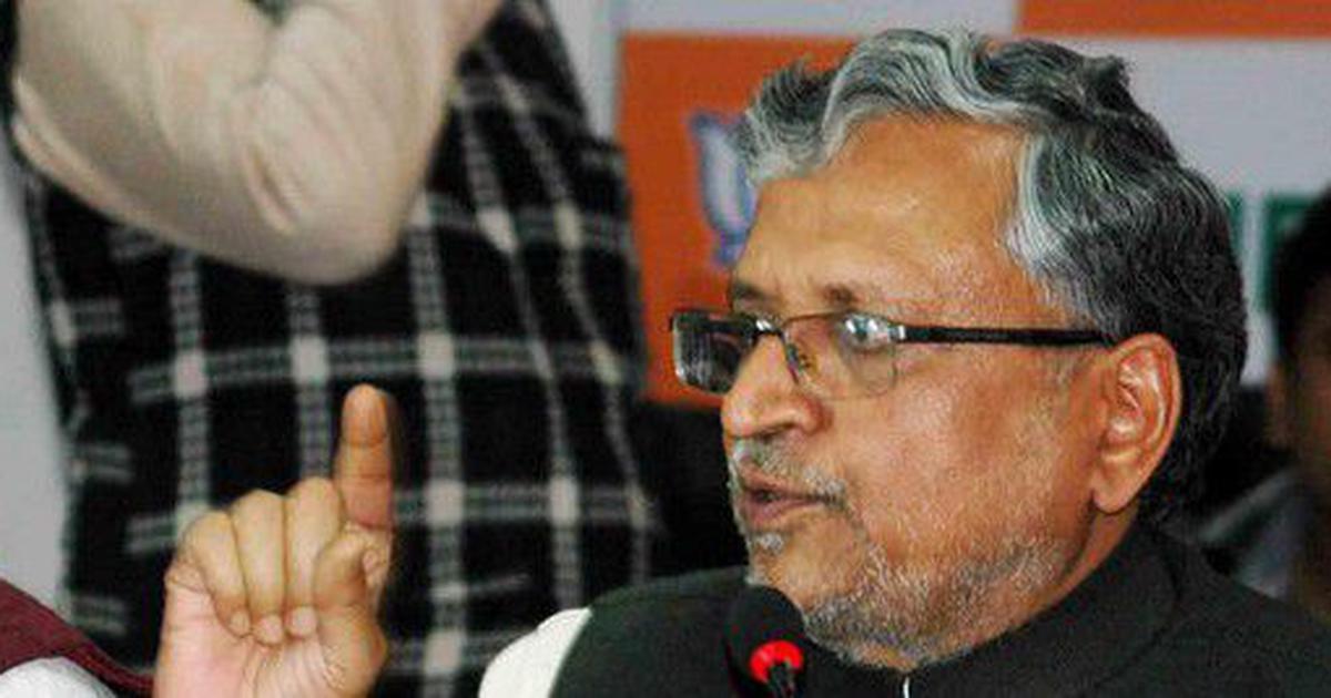 Srijan scam: Bihar Deputy CM Sushil Kumar Modi's cousin raided by tax department, say reports