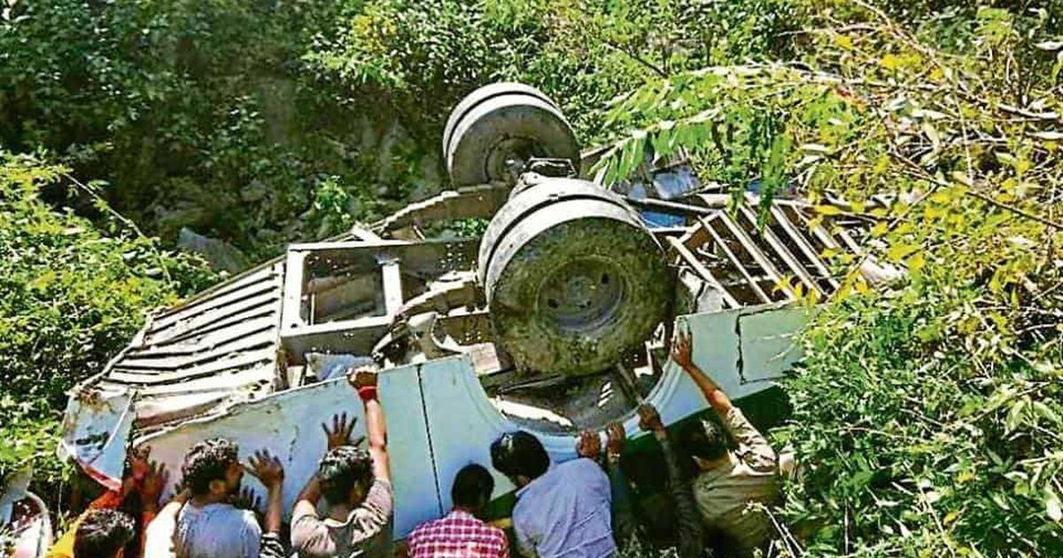 Uttarakhand: At least five killed and 21 injured after bus falls into gorge in Almora