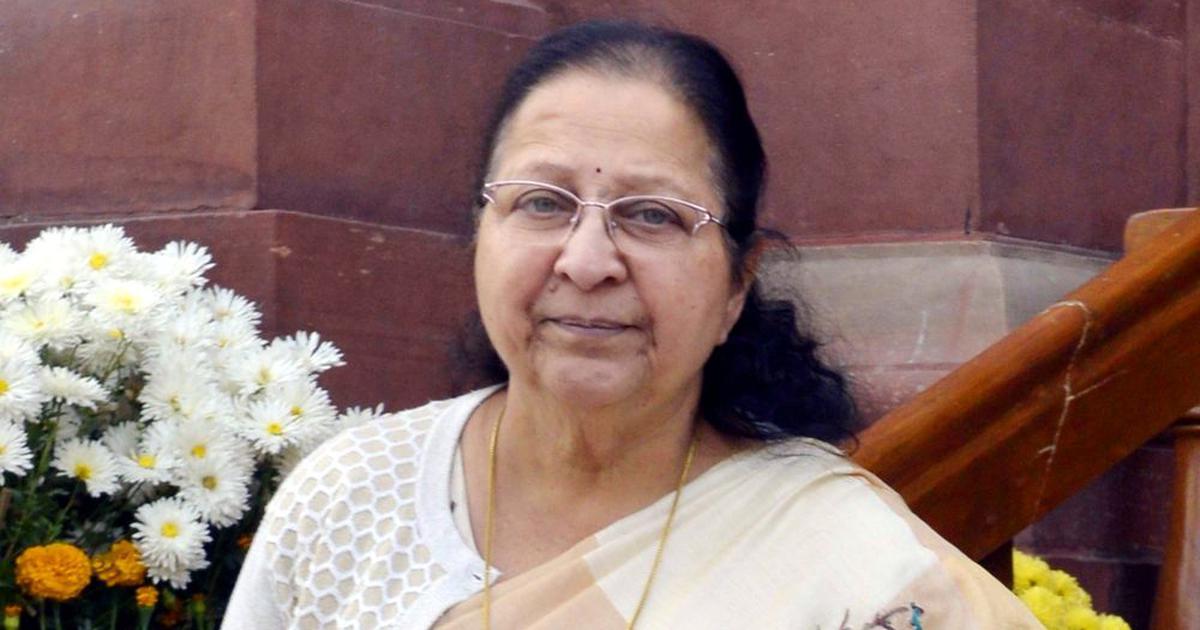 SC/ST Act amendment: Sumitra Mahajan says one cannot take back chocolate from a child