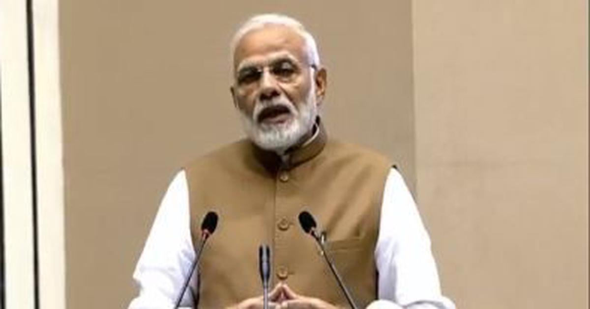 Delhi: At global summit, Narendra Modi seeks investments in electric vehicle manufacturing