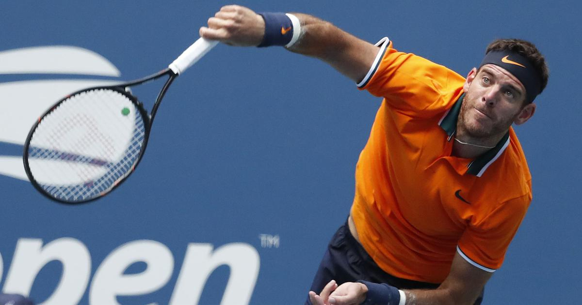Juan Martin del Potro reaches US Open final as Nadal retires mid-match with knee injury