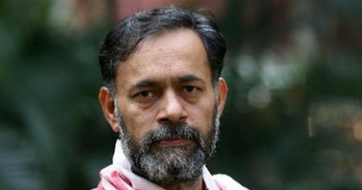 Tamil Nadu: Yogendra Yadav detained on his way to a protest against Chennai-Salem expressway