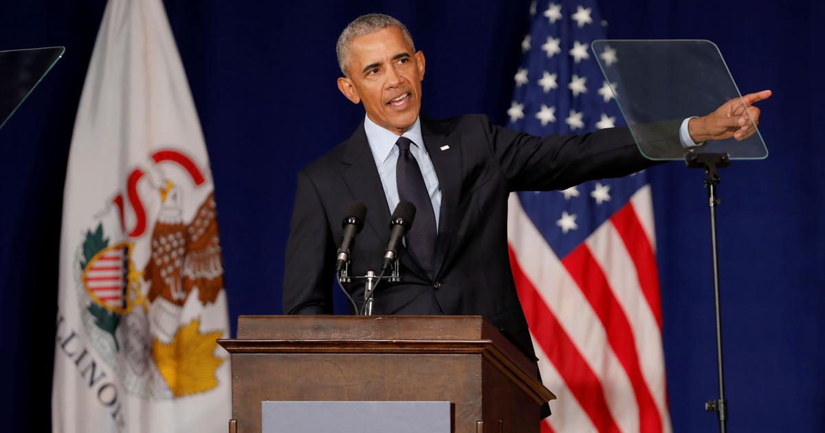 United States: Donald Trump is capitalising on resentment, says former President Barack Obama
