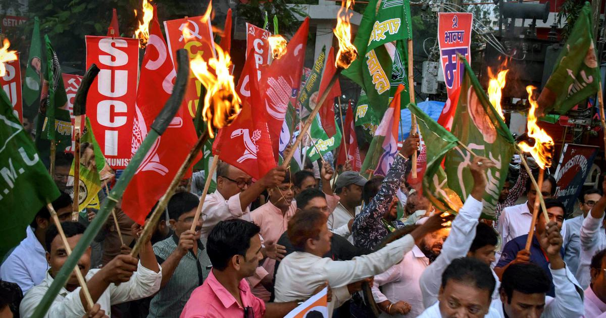 Bharat bandh: Opposition parties observe shutdown across states against rising fuel prices