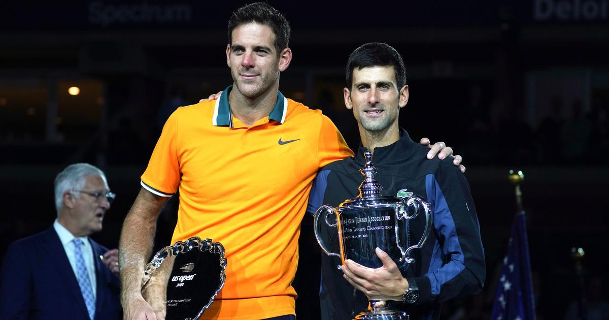 Despite loss, del Potro hopes Djokovic, Federer, Nadal continue to fight for Grand Slams