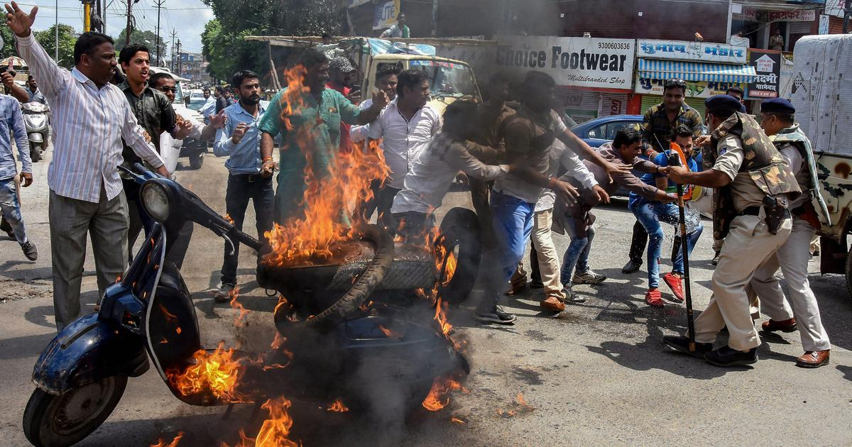 Bharat Bandh: Congress claims shutdown is a success, Centre says it has no role in fuel price rise