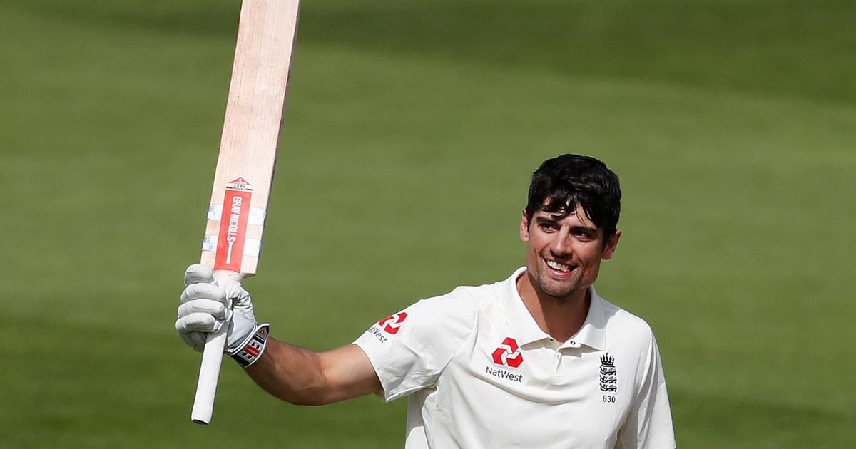 'Fairytales do happen': Twitter celebrates Alastair Cook's famous century in his farewell Test