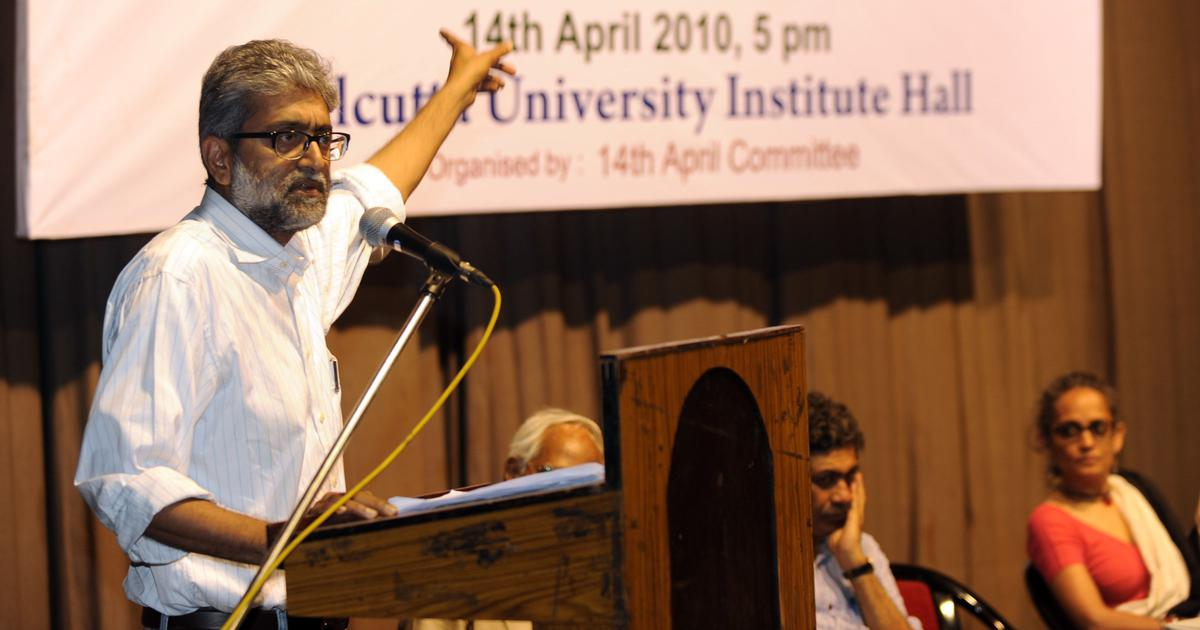 Gautam Navlakha has always been a principled dissenter. It's a shame he's being punished for it
