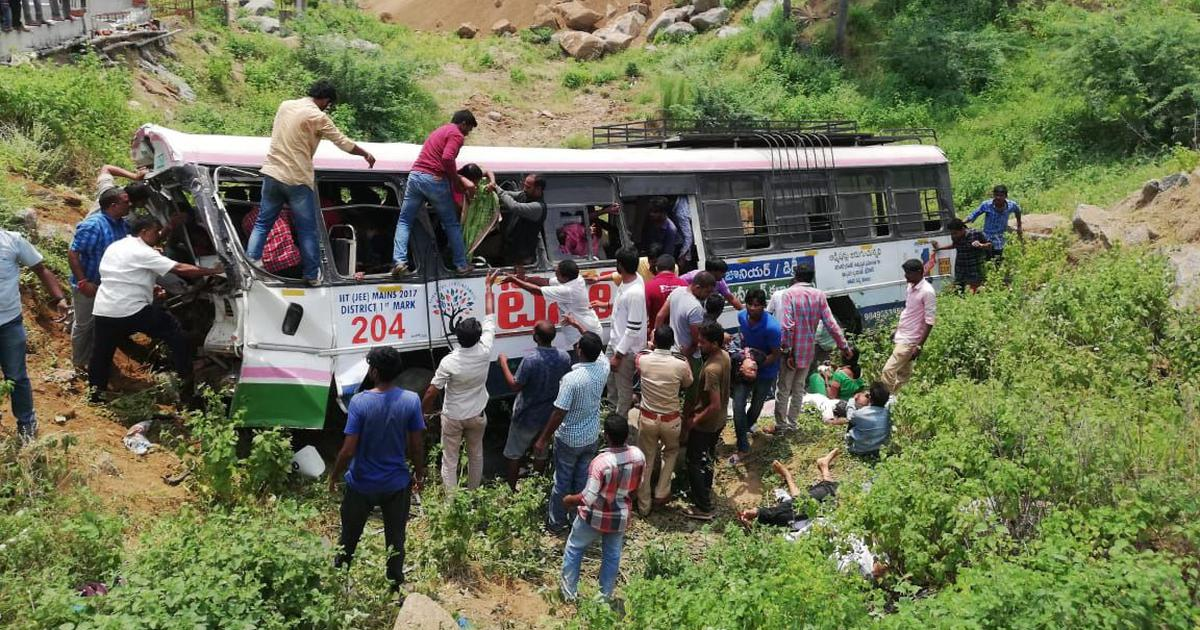 The big news: Telangana bus accident leaves at least 52 people dead, and nine other top stories
