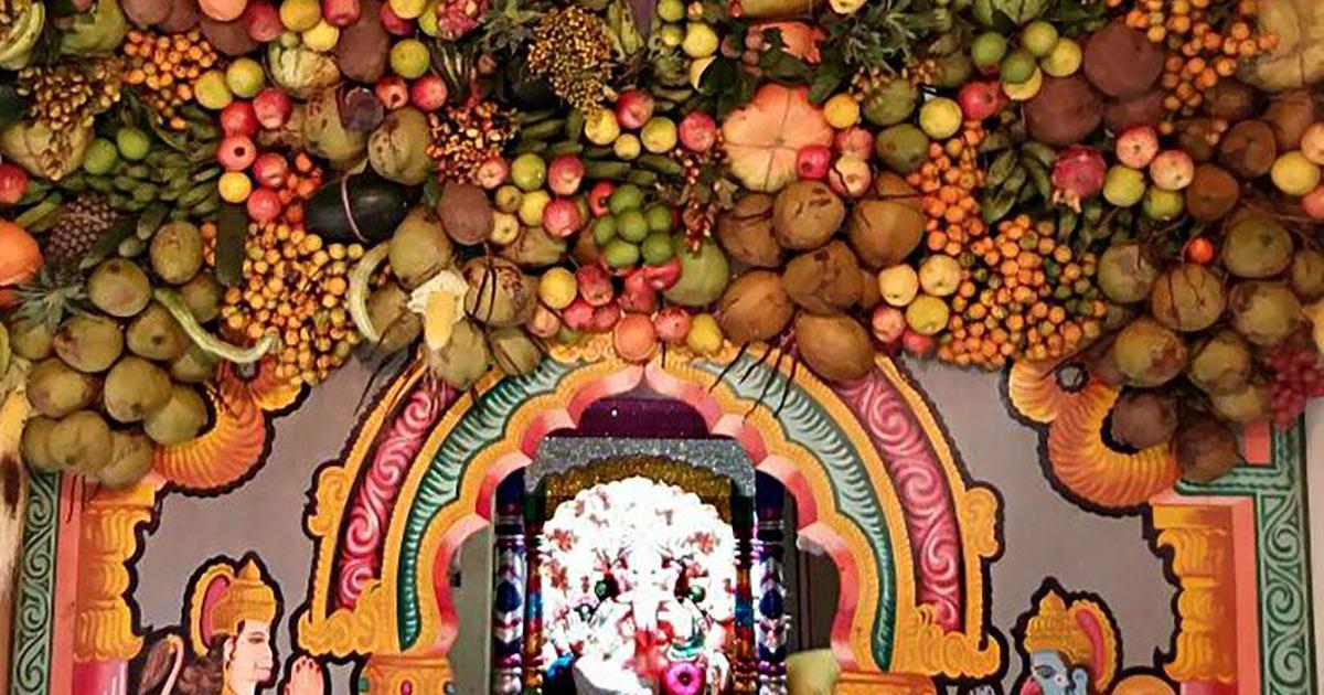 Matoli Mud Idols And Leafy Decorations Ganesh Chaturthi Is All
