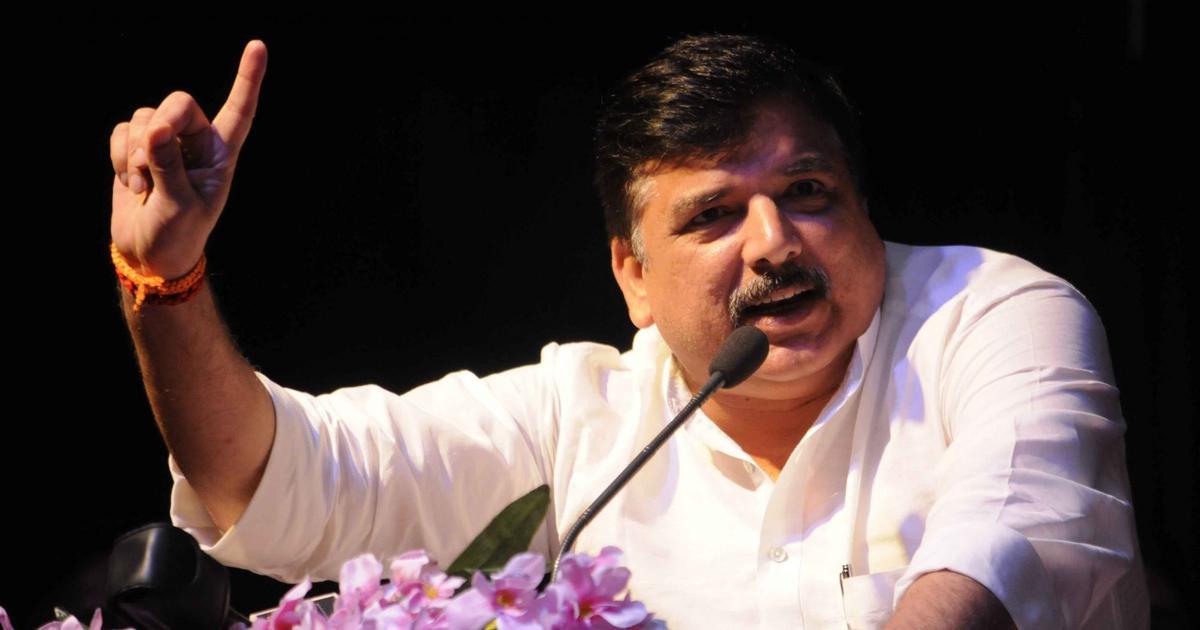 AAP leader Sanjay Singh alleges protestors attacked his vehicle in Madhya Pradesh's Chhindwara