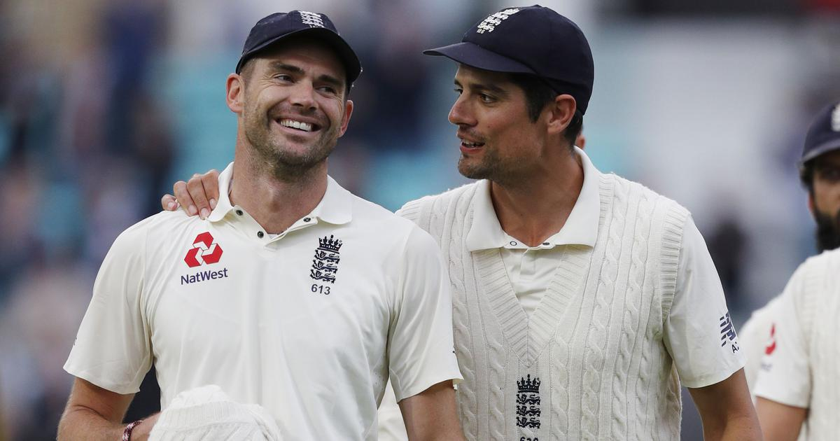 England's greatest cricketer: Retiring Cook pays tribute to record-breaking Anderson
