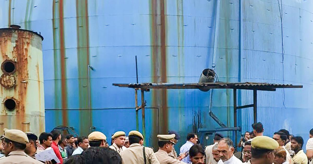 Uttar Pradesh: Toll in Bijnor factory blast rises to seven, authorities seal premises