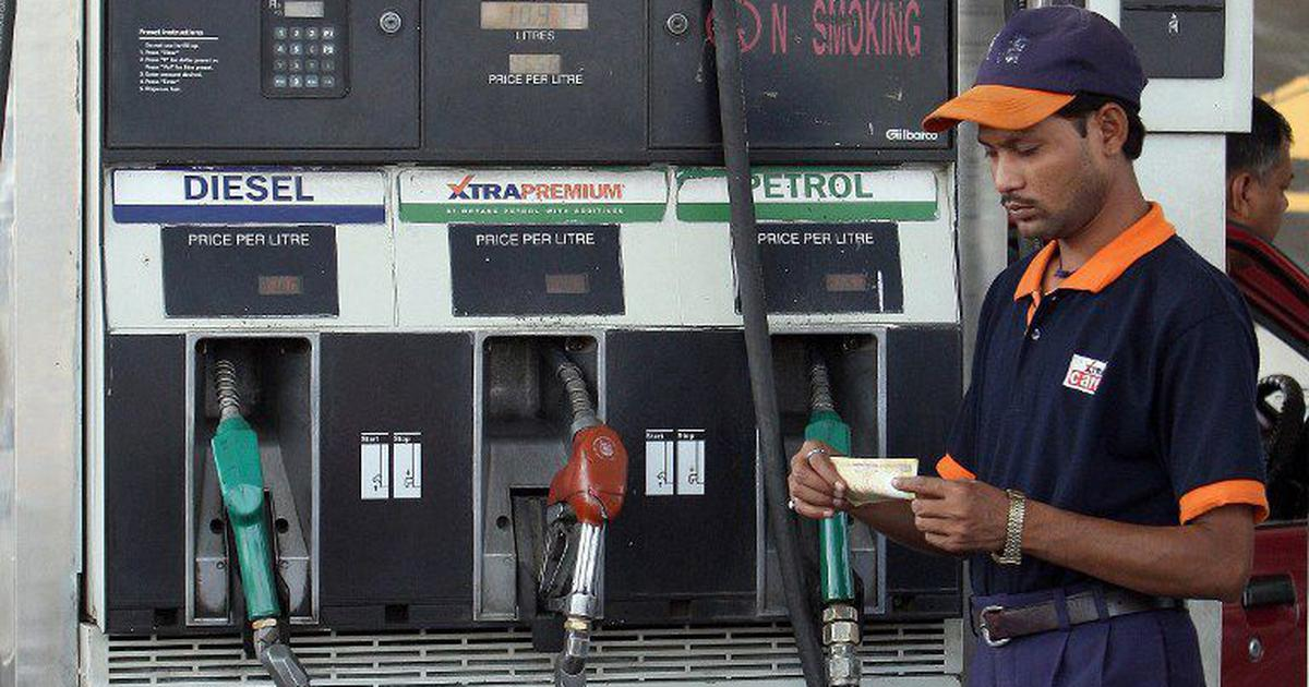Petrol, diesel prices continue to rise due to sliding rupee and rise in international oil rates
