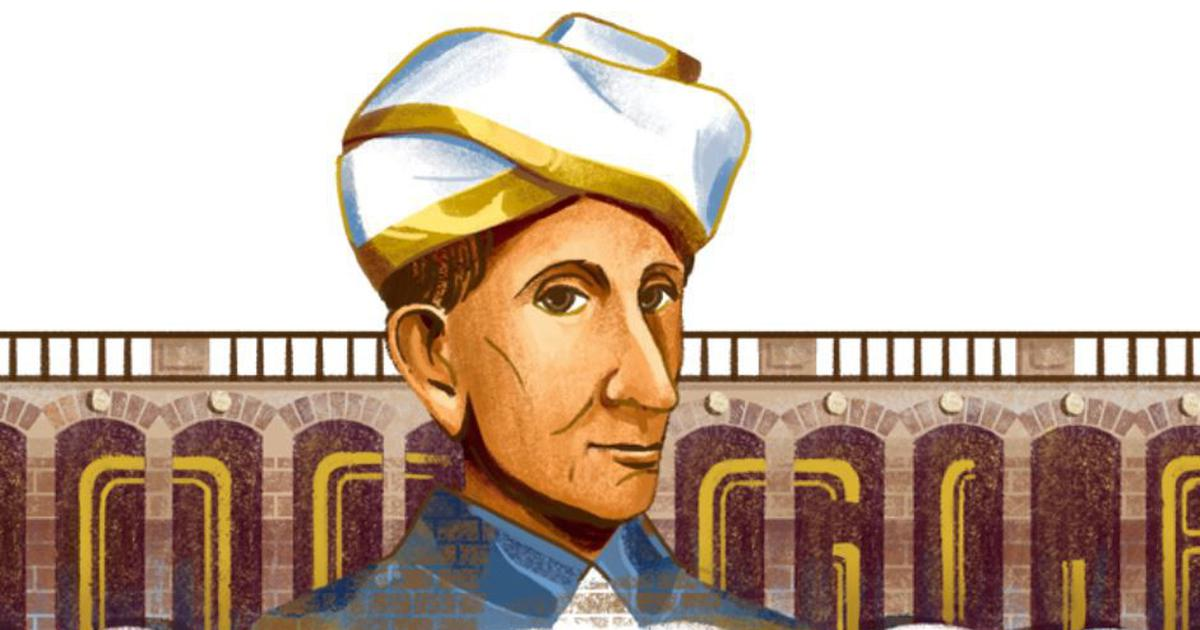 Google honours iconic engineer Sir M Visvesvaraya with a doodle
