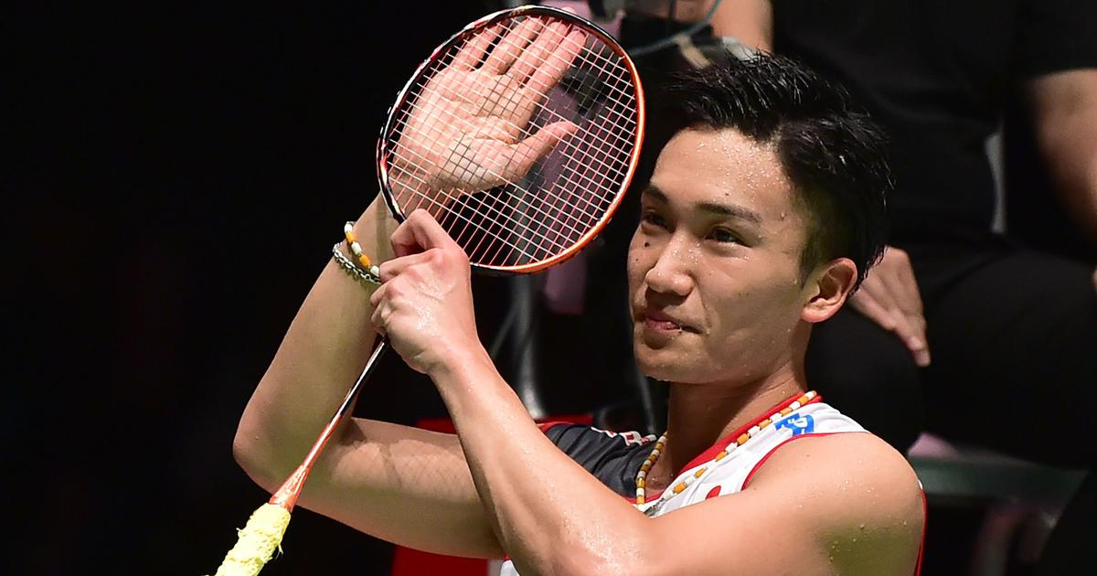 Japan Open badminton: Kento Momota trounces Khosit Phetpradab to clinch title