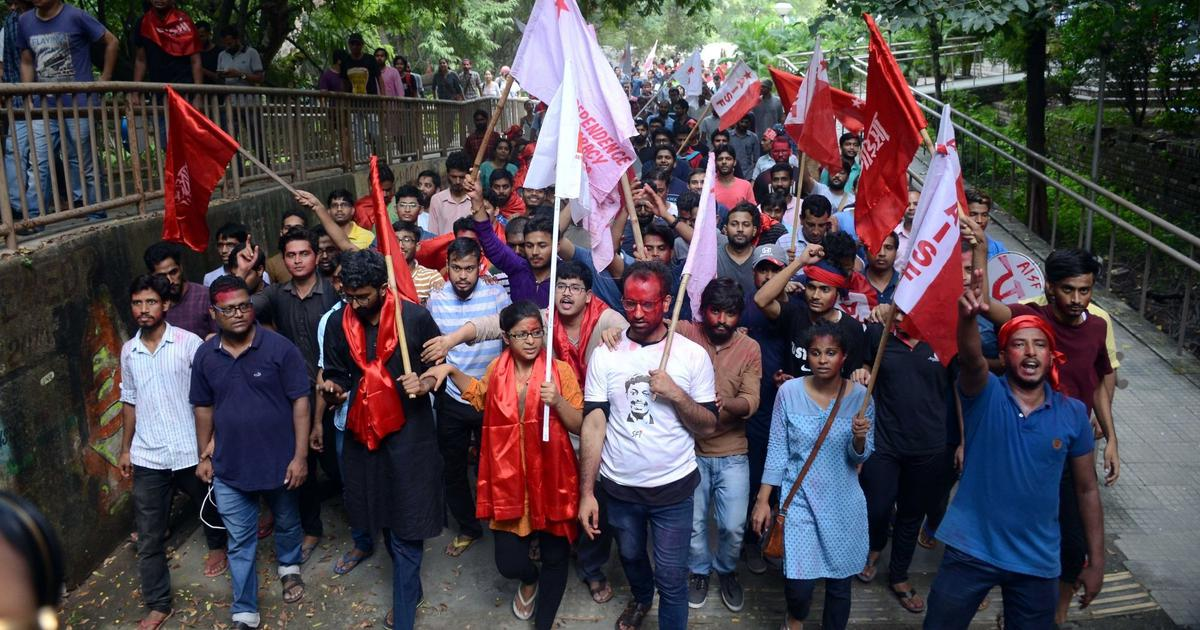 JNU bans rallies and processions on campus after clashes break out between student groups