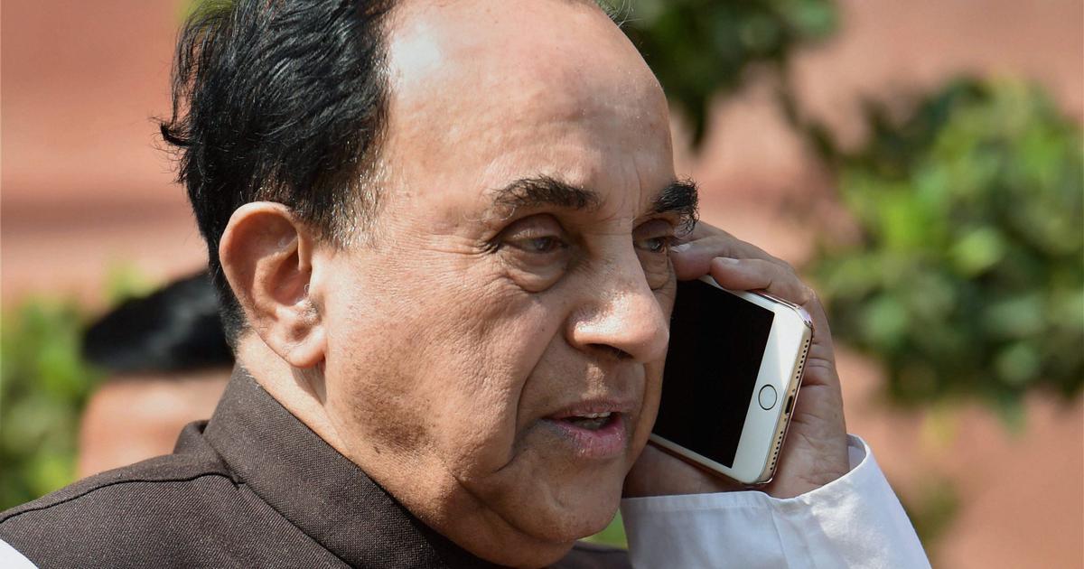 National Herald case: Subramanian Swamy accuses Rahul, Sonia Gandhi of cheating, criminal conspiracy