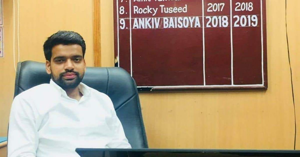 DU fake degree row: ABVP's Ankiv Baisoya says he studied 'several types of subjects' in Vellore