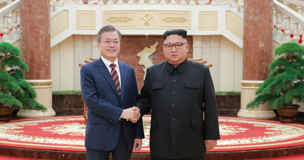 At Pyongyang summit, North and South Korea reiterate commitment to denuclearise peninsula