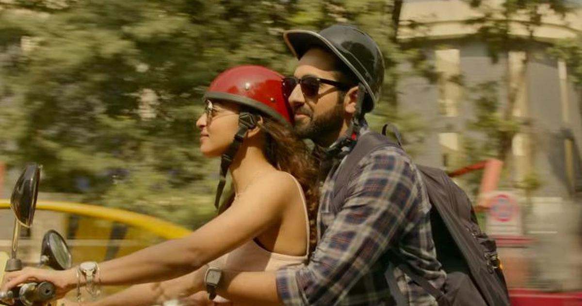 Watch: Radhika Apte and Ayushmann Khurrana fall in love in 'Aap Se Mil Kar' from 'Andhadhun'