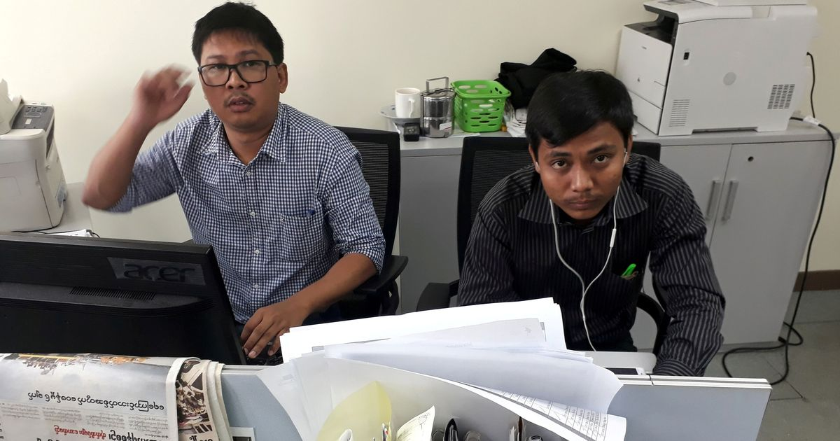 UN secretary general urges Myanmar to release two Reuters journalists as quickly as possible