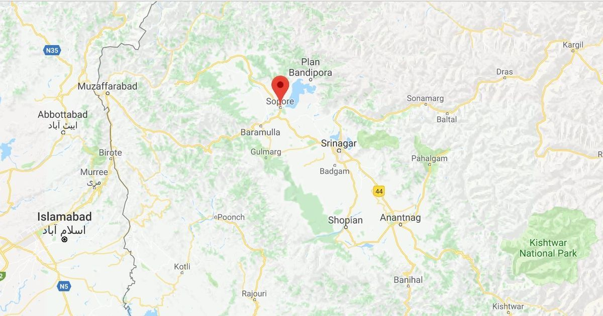 Jammu and Kashmir: Two suspected militants killed in encounter with security forces in Sopore