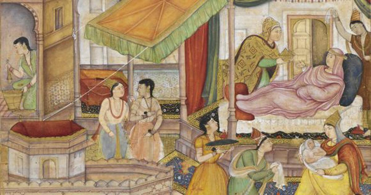 Glimpses of 'Divan-i-Hijri', a book of poems in the collection of Humayun's wife Hamidah Banu