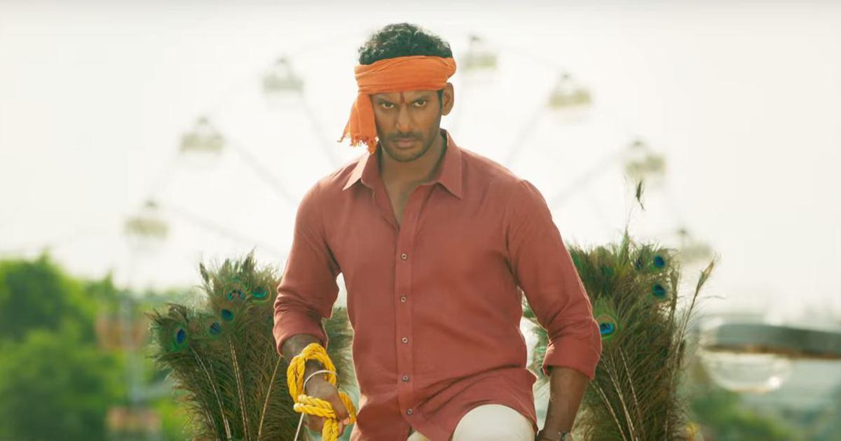 'Sandakozhi 2' trailer: Swords fly between Vishal and Varalaxmi Sarathkumar