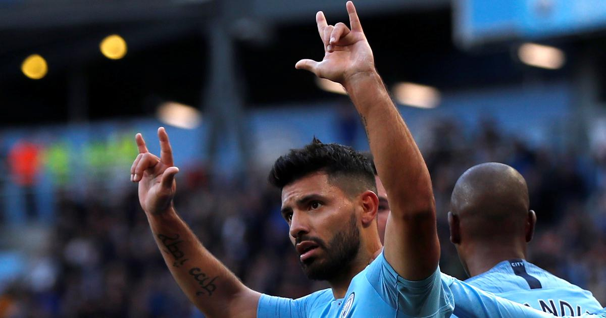Manchester City outclass Brighton to temporarily move to top of Premier League table