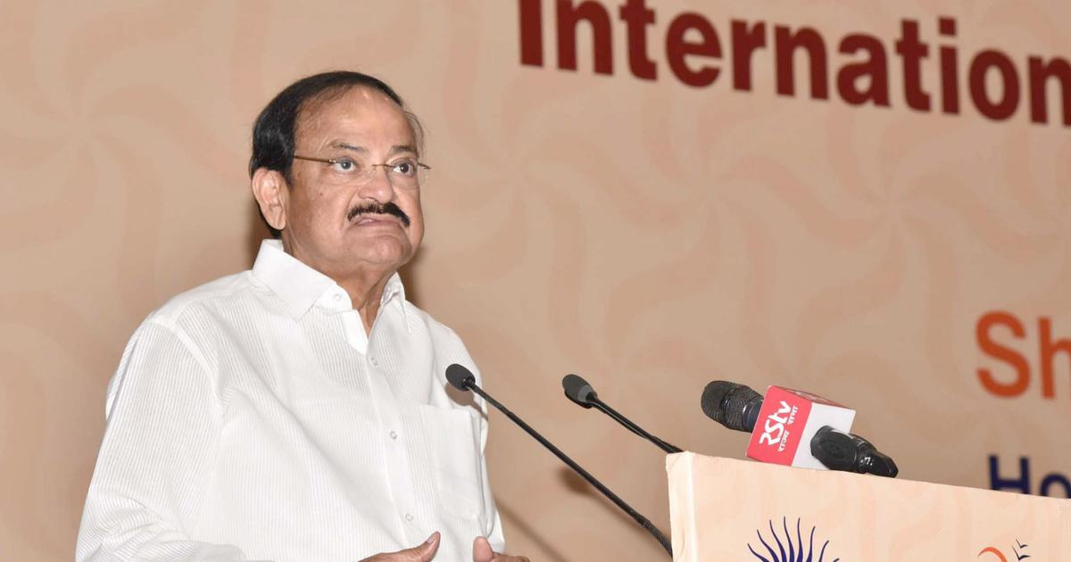 Come up with strong actions to combat terrorism, Vice President Venkaiah Naidu tells United Nations