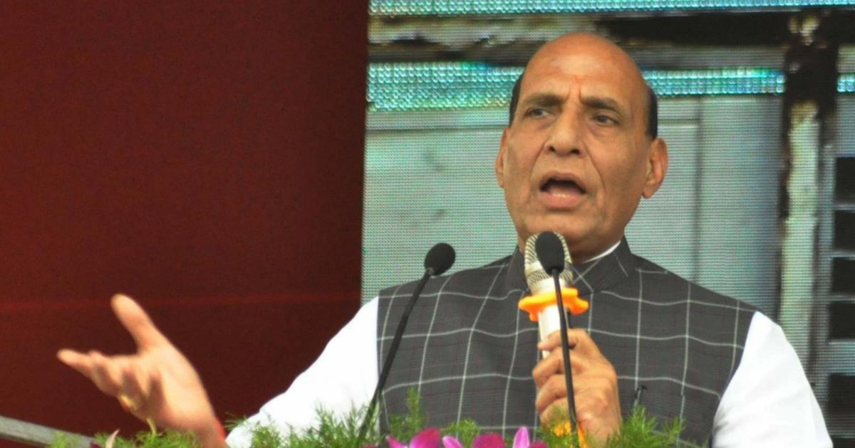 Centre has asked states to collect biometric data of Rohingya refugees, says Rajnath Singh