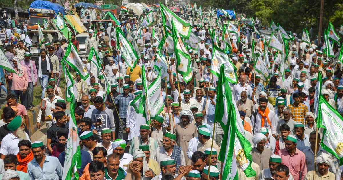 Farmers' rally set to enter Capital on Tuesday, police issue prohibitory orders in East Delhi